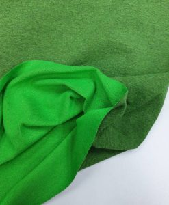 Kilpinis trikotažas Žalias melanžas