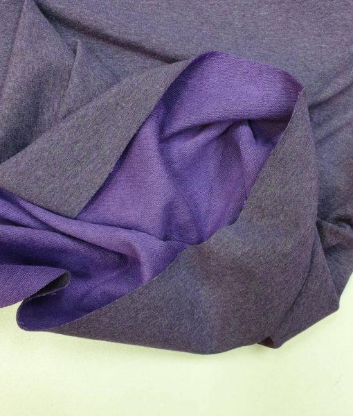 Kilpinis trikotažas Violetinis melanžas