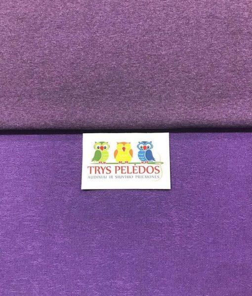 """Kilpinis trikotažas """"Violetinis melanžas"""""""
