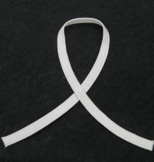 Guma 15 mm, Balta