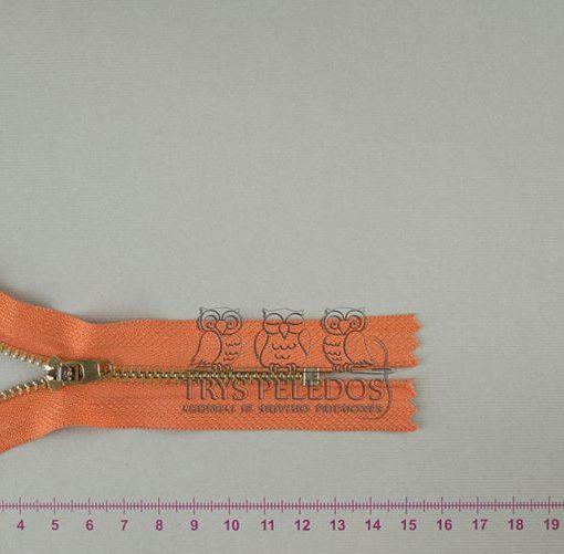 """Metalinis užtrauktukas """"Oranžinis"""", 10 cm"""