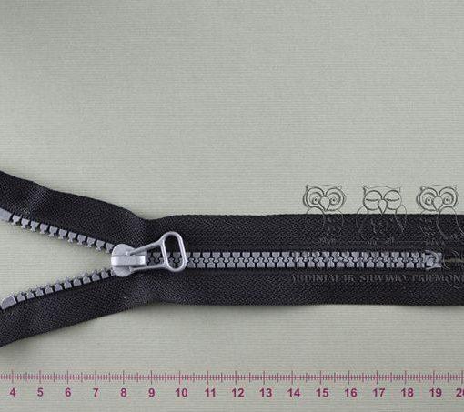 """Spiralinis užtrauktukas """"Juodas"""", 16 cm"""