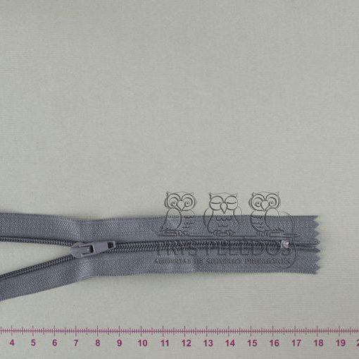 """Spiralinis užtrauktukas """"Pilkas"""", 14 cm"""