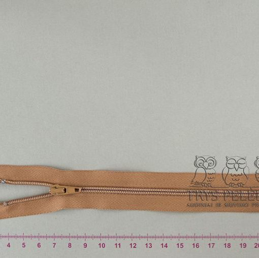 """Spiralinis užtrauktukas """"Plytinis"""", 18 cm"""