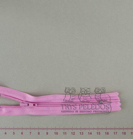 """Spiralinis užtrauktukas """"Rožinis"""", 12 cm"""