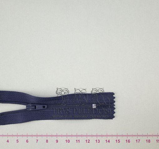 """Spiralinis užtrauktukas """"Tamsiai mėlynas"""", 10 cm"""