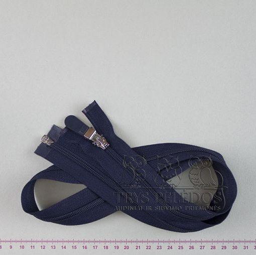"""Spiralinis užtrauktukas """"Tamsiai mėlynas"""", 65 cm"""