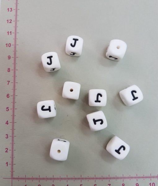 Silikoninė raidelė J