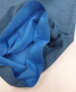 Kilpinis trikotažas Mėlynas melanžas