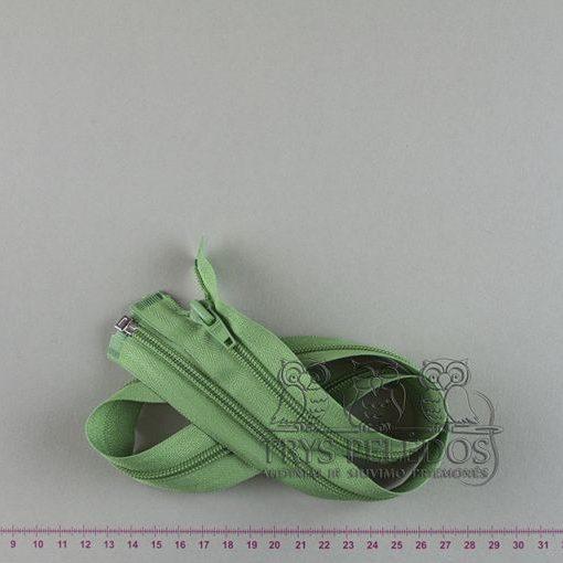 """Spiralinis užtrauktukas """"Žalias"""", 65 cm"""