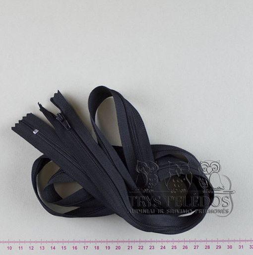 """Spiralinis užtrauktukas """"Juodas"""", 150 cm"""