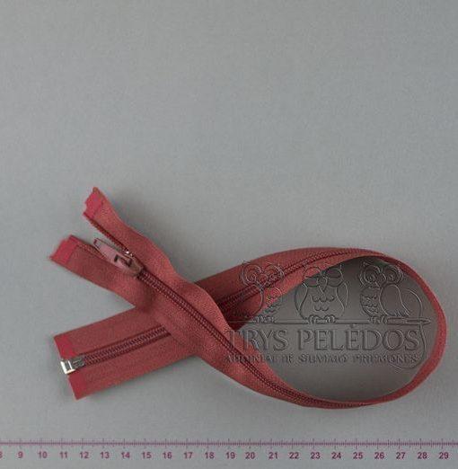 """Spiralinis užtrauktukas """"Plytinis"""", 50 cm"""
