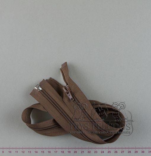 """Spiralinis užtrauktukas """"Rudas"""", 70 cm"""