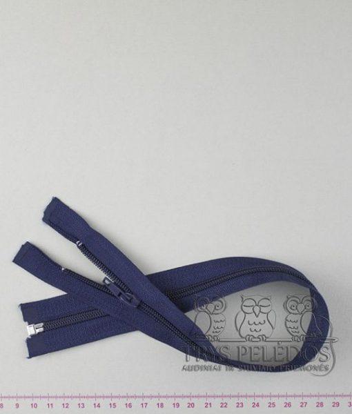 """Spiralinis užtrauktukas """"Tamsiai mėlynas"""", 50 cm"""