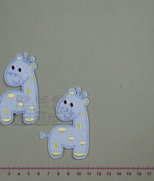 Termoaplikacija Žydra Žirafa