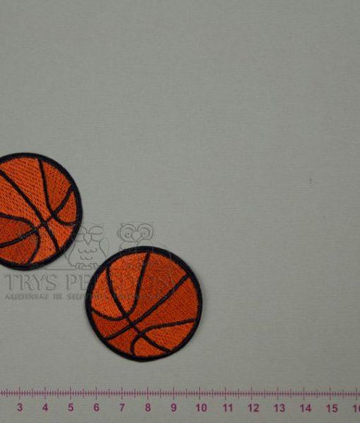 Termoaplikacija Oranžinis Krepšinio Kamuolys