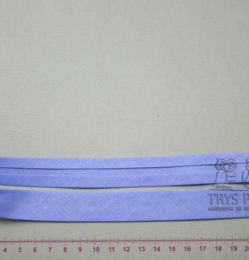 Medvilninė kantavimo juostelė Žydra 18 mm