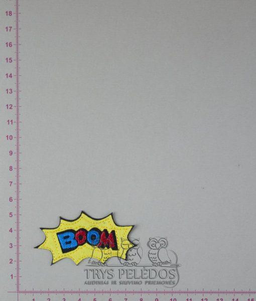 Termoaplikacija BOOM, geltona