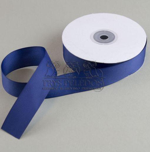 Grosgrain juostelė 25mm, mėlyna