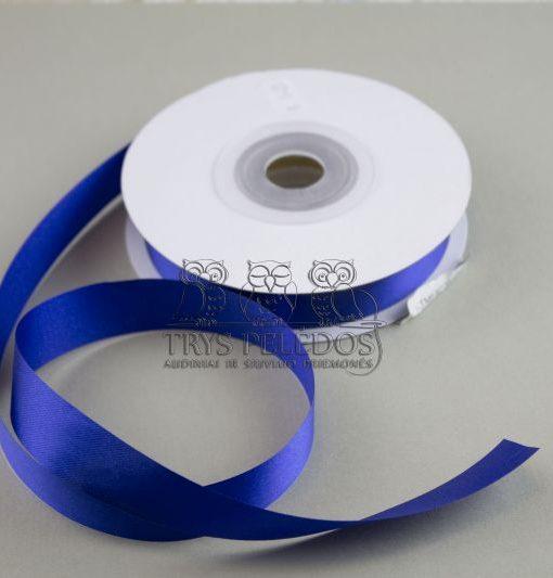 Atlasinė juostelė 20mm,ryškiai mėlyna