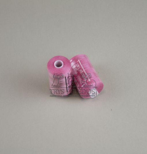 Siuvimo siūlai HARD Tamsiai Rožiniai, 1000 jardų