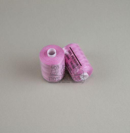 Siuvimo siūlai HARD Rožiniai, 1000 jardų