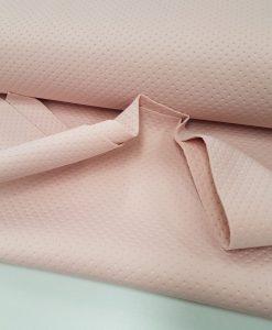 Faktūrinis / Dygsniuotas neoprenas Šviesiai rožinis