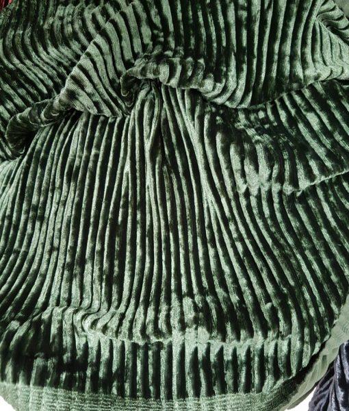 Sintetinis gofruotas veliūras Samana