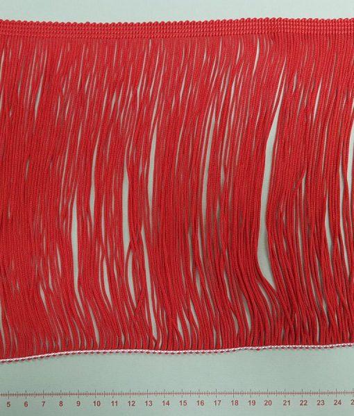 Dekoratyvinė kutų juostelė, 200 mm, raudona