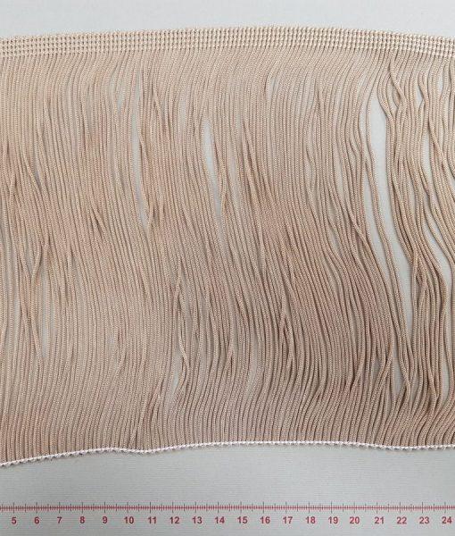Dekoratyvinė kutų juostelė, 200 mm, šviesiai ruda