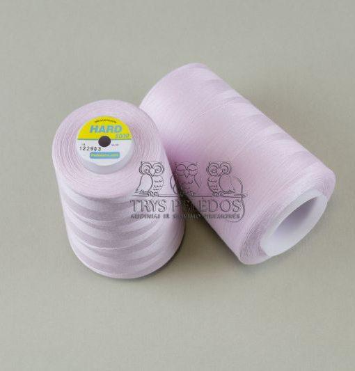 Siuvimo siūlai HARD Labai šviesiai rožiniai, 5000 jardų