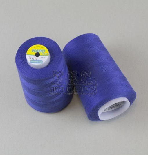 Siuvimo siūlai HARD Ryškiai Mėlyni, 5000 jardų