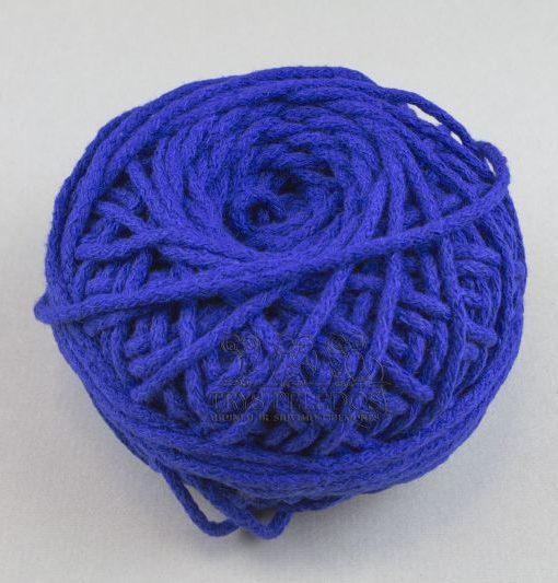 Medvilninė virvelė Ryškiai mėlyna, 3 mm