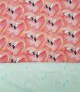Kilpinis, skaitmeninės spaudos trikotažas Flamingai
