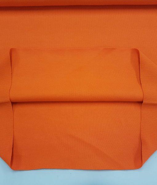 Rib trikotažas Oranžinis