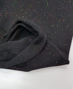 Kilpinis trikotažas Juodas margintas