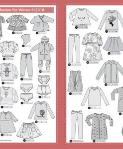 Ottobre Design Winter Kids Fashion 6/2016