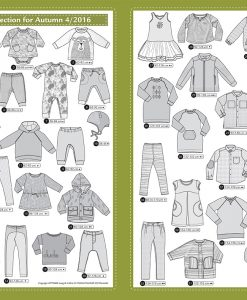 Ottobre Design Herbst Kids Fashion 4/2016