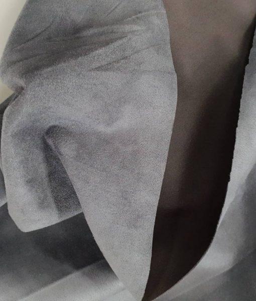 Zomšo imitacijos trikotažas Pilkas