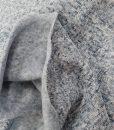 Pašiltintas, storas megztas trikotažas Šviesiai mėlynas
