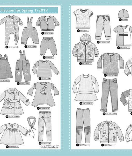 Ottobre Design Spring Kids Fashion 1/2019