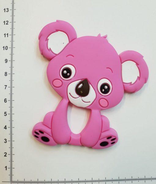 Silikoninis kramtukas Ryškiai rožinė Koala
