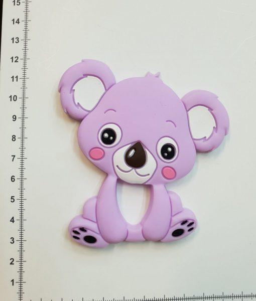 Silikoninis kramtukas Alyvinė Koala