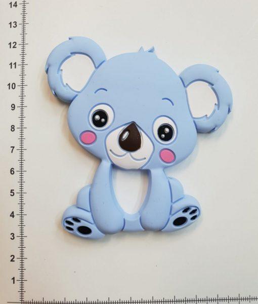 Silikoninis kramtukas Šviesiai mėlyna Koala