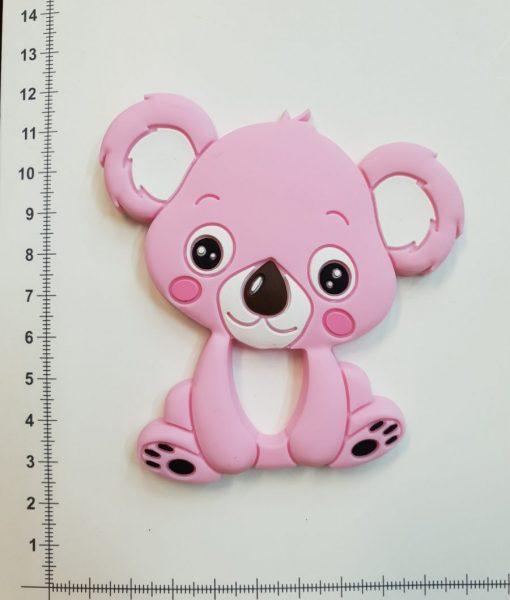 Silikoninis kramtukas Šviesiai rožinė Koala
