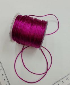 Satino virvelė Ciklameno, 1,5 mm
