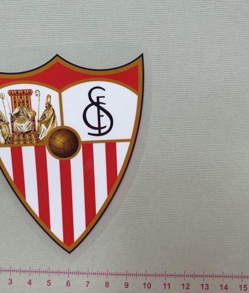 Termoaplikacija Sevilla futbolo komandos logotipas, maža
