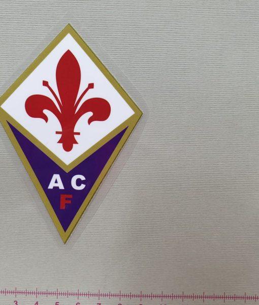 Termoaplikacija ACF Fiorentina futbolo komandos logotipas, maža