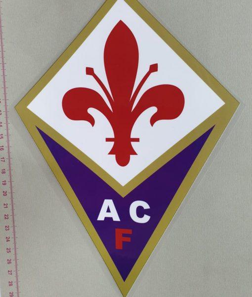 Termoaplikacija EACF Fiorentina futbolo komandos logotipas, didelė