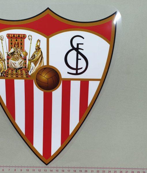 Termoaplikacija Sevilla futbolo komandos logotipas, didelė